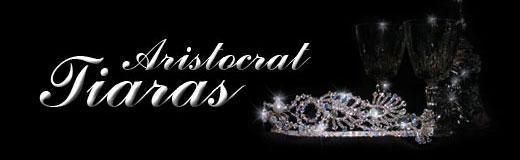 Aristocrat Tiaras - handmade Swarovski crystal bridal tiaras