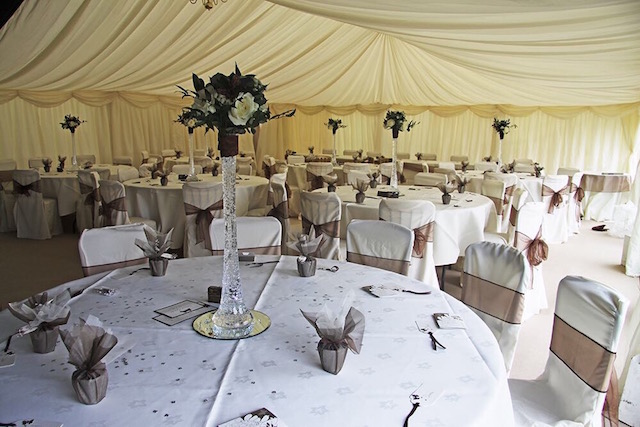 wedding venue decorations centrepieces
