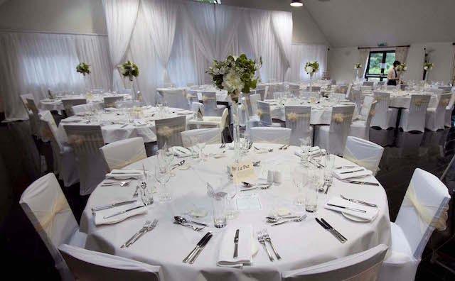 Yewlodge wedding decor