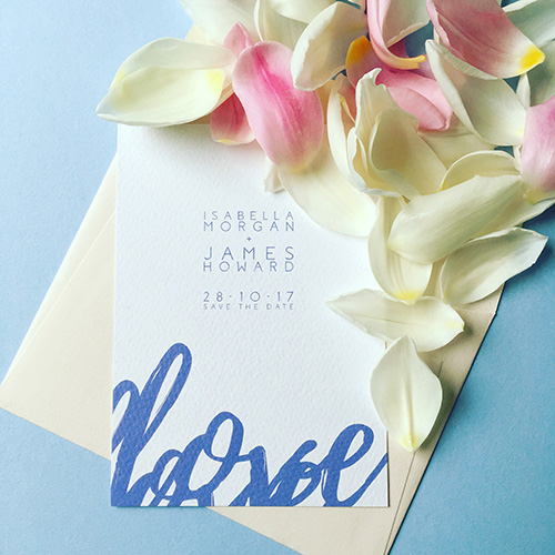 Love Letter Wedding Invitation Collection