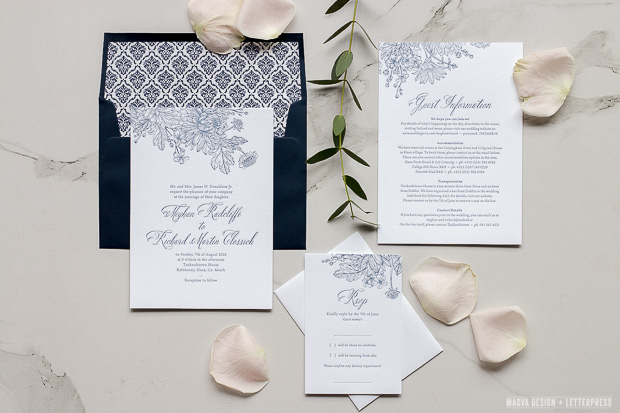 Floral Bloom Wedding Stationery