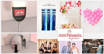 Fotoauto photo booth wedding prom events corporate