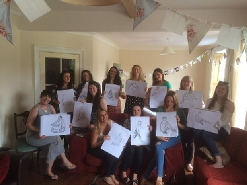 Hen Party Life Drawing Fun