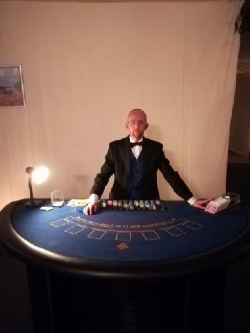 Blackjack ready to go.
