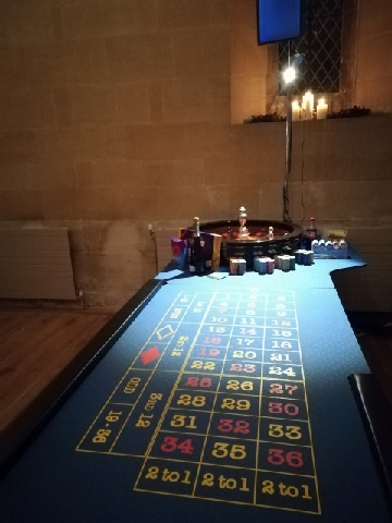 Roulette Table Looking Fab