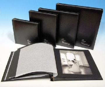 Black Page Wedding Albums