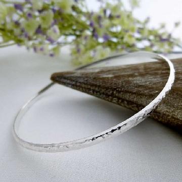 silver slave bangles