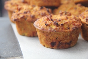 Sweet Potato Mini Muffins