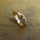 rose gold unisex rings
