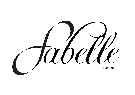 fabelle london logo wedding flip flops