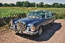 Classic, vintage wedding car