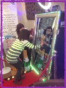 Magic Mirror at local wedding fair