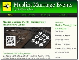 http://www.muslimmarriageevents.info website