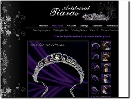 http://www.aristocrattiaras.co.uk/bridal-tiaras/30/Princess-Sophie-handmade-Swarovski-wedding-tiara.html website