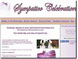 http://www.sympaticocelebrations.co.uk website