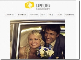 http://capricornweddings.photography website