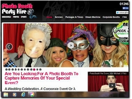 http://www.photoboothpartyhire.co.uk website
