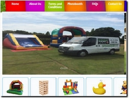 http://www.gardengamespartyhire.co.uk website
