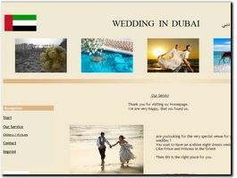http://www.wedding-in-dubai.com website