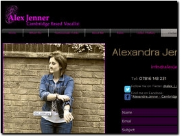 http://alexjenner.co.uk website