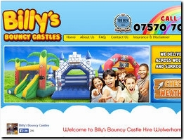 http://billysbouncycastlehire.co.uk/ website