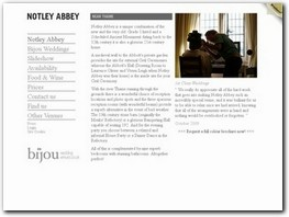 http://www.notleyabbey.co.uk/ website