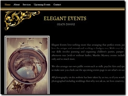 http://www.eleganteventscoventry.co.uk website