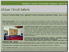 http://www.africancircuitsafaris.com website