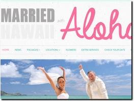 http://www.marriedwithaloha.com website