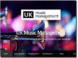 http://www.ukmusicmanagement.com website
