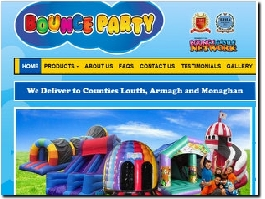 http://www.bouncepartycastles.com website