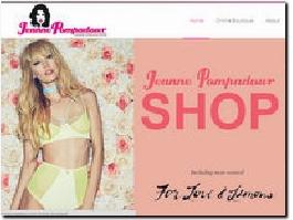 http://www.jeannepompadour.com/online-boutique website