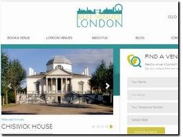 https://bestvenues.london website