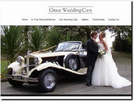 http://www.graceweddingcars.co.uk/ website