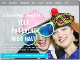 http://www.selfiephotoboothhire.co.uk website