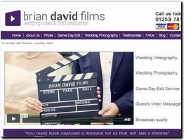 http://www.briandavidfilms-weddings.co.uk website