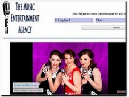 http://www.themusicentertainmentagency.co.uk website