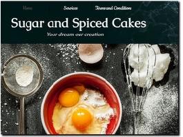 http://www.sugarandspicedcakes.com website