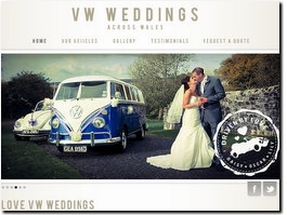 http://www.vwweddingswales.co.uk website