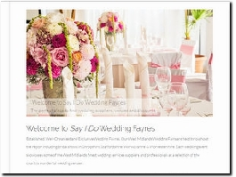 http://www.sayidoweddingfayres.co.uk website