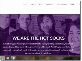 http://www.thehotsocks.co.uk/ website