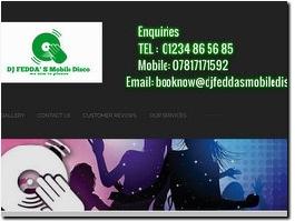 http://www.djfeddamobiledisco.com website