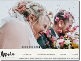 http://www.ayeshaphotography.com website