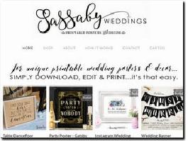 http://www.sassabyweddings.com website