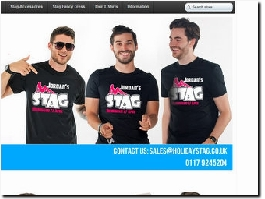 http://www.holidaystag.co.uk/ website