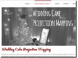 http://angiescottcakes.co.uk/video-projection-cake-mapping/wedding-cake-projection-mapping/ website