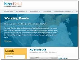 http://hireaband.co.uk website