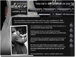 http://www.occasionaldance.co.uk website