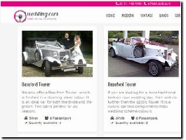 https://www.ftweddingcars.co.uk/ website