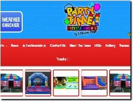 https://www.partytimeuk.co.uk website